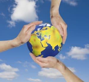 Global denken, lokal handeln! Quelle: Thorben Wengert / pixelio.de