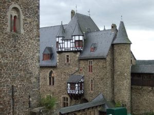 Schloss Burg von innen; Quelle: Manuela Wolff / pixelio.de